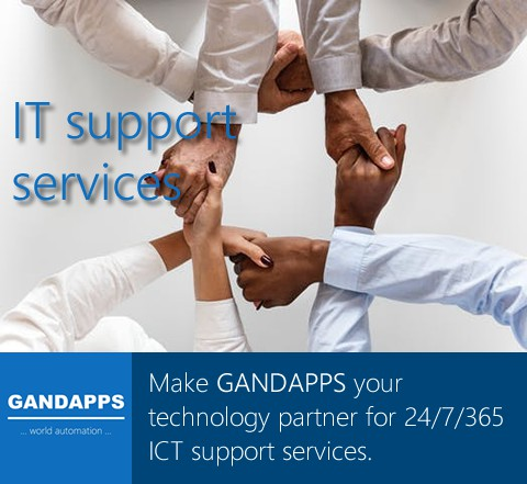 Gandapps IT support services